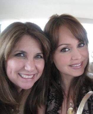 Con la bella Gaby Spanic