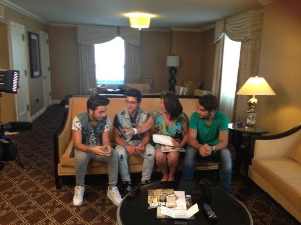 Entrevistando al Il VOLO