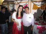 Con el productor Juan Osorio