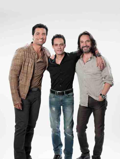 Chayanne, Marc y Marco: un trio de gigantes explosivos!