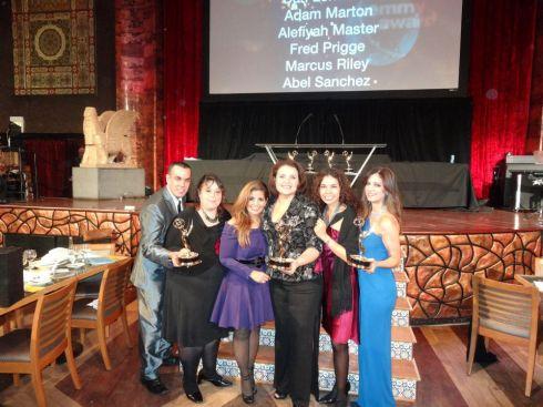 Premios Emmy para Alfonso, Alba y Maria Elena, de Telemundo